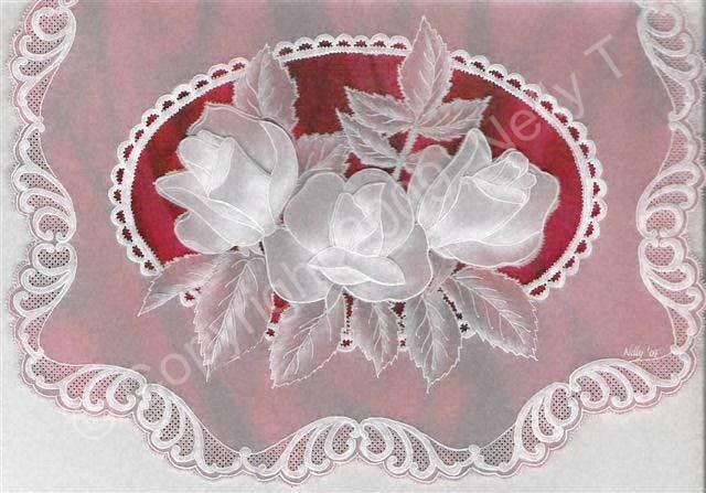 3d Roses2 Art Of Parchment Craft
